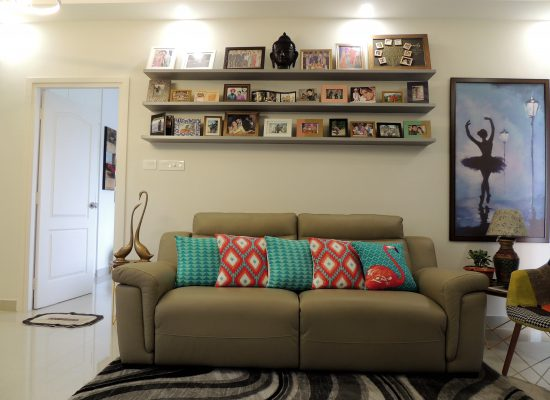 Ledges for Photo Wall