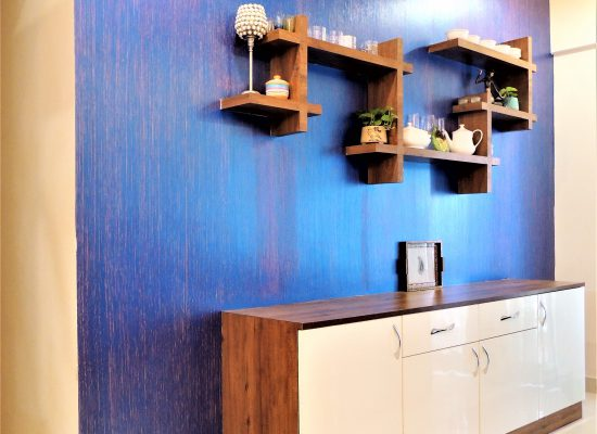 foyer2attic interior designers bangalore - crockery unit