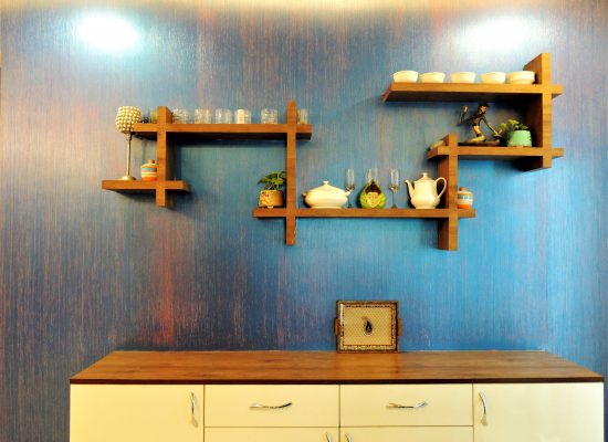 foyer2attic interior designers bangalore - crockery unit