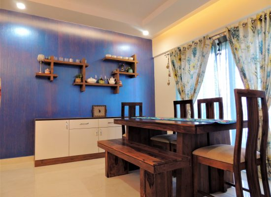 foyer2attic interior designers bangalore - dining