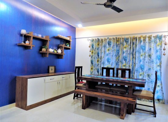 foyer2attic interior designers bangalore - dining area