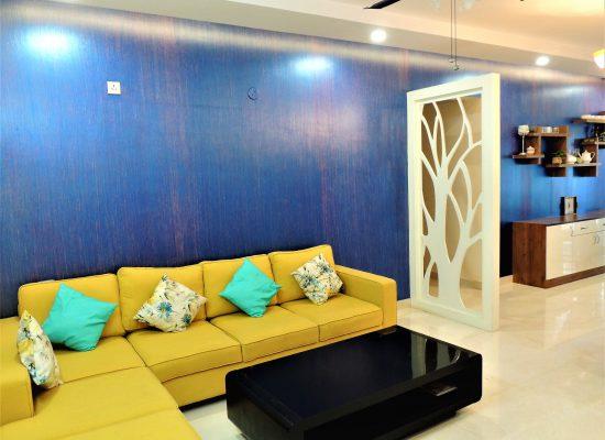 foyer2attic interior designers bangalore - living room