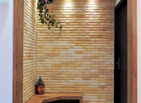 foyer2attic interior designers bangalore stone cladding