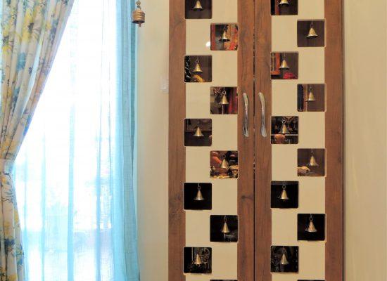 foyer2attic interior designers bangalore puja unit
