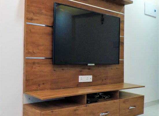 foyer2attic interior designers bangalore - TV unit