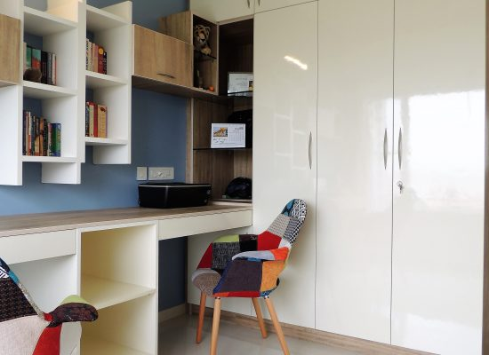 modern study unit