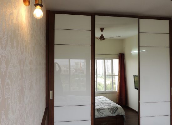 aristo wardrobe full length glass sliding