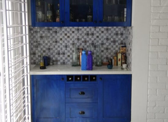 crockery unit Mediterranean