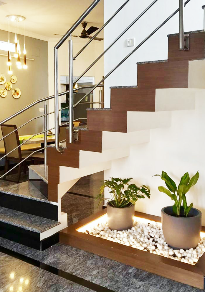 staircase after renovation